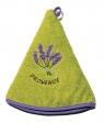 Le Chatelard Ručníček froté - kulatý, tmavě zelený, 50 cm