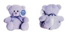 Le Chatelard Plyšový medvídek, fialový, malý, plněný levandulovým pytlíčkem