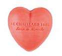 Le Chatelard Mýdlo ve tvaru srdce - Jasmín a růže, 25g