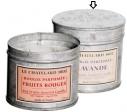 Le Chatelard Svíčka v zinkové krabičce - levandule, 200g