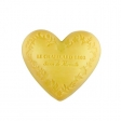 Le Chatelard Mýdlo ve tvaru srdce - Mandarinka a limetka, 100g