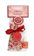 Le Chatelard Vonný pytlíček 18g + parfémovaná pečeť s vůní 12ml – Červené ovoce