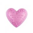 Le Chatelard Mýdlo ve tvaru srdce - Růže a pivoňka, 100g
