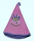 Le Chatelard Ručníček froté - kulatý, fialový, 50 cm