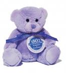 Le Chatelard Plyšový medvídek, fialový, malý