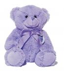 Le Chatelard Plyšový medvídek, fialový, střední