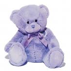 Le Chatelard Plyšový medvídek, fialový, velký