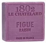 Le Chatelard Mýdlo čtverec - Fík a grep, 100g