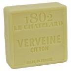 Le Chatelard Mýdlo čtverec - Verbena a citrón, 100g