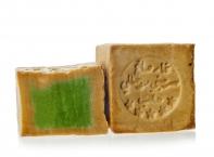 Le Chatelard Kostka Alepp mýdla s olivovým a vavřínovým olejem, 200g