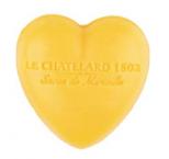 Le Chatelard Mýdlo ve tvaru srdce - Mandarinka a limetka, 25g