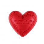 Le Chatelard Mýdlo ve tvaru srdce - Červené ovoce, 100g
