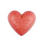 Le Chatelard Mýdlo ve tvaru srdce - Jasmín a růže, 100g