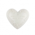 Le Chatelard Mýdlo ve tvaru srdce - Jasmín a mošus, 100g